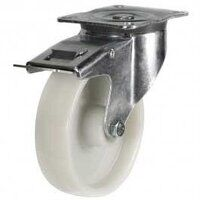 80DR4PPBSWB 80mm Polypropylene Wheel Castor - Swivel Braked