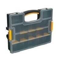 APAS15A Sealey Parts Storage Case with Removable Compartments - Stackable