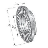 AXW30 Axial Needle Roller Bearing with Washer