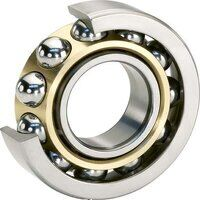 7205-BEP Single Row Angular Contact Ball Bearing (Dunlop)