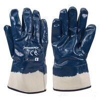 Jersey Lined Nitrile Gloves (282405)