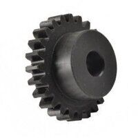 2.0 Mod x 25 Tooth Metric Spur Gear In 30% Glass filled Nylon 6