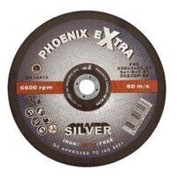 PHS17860DI 178mm x 6.8mm x 22mm F27 INOX Extra SILVER Cutting Disc (Pack of 25)