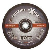 PHS23030DI 230mm x 3.0mm x 22mm F27 INOX Extra SILVER Cutting Disc (Pack of 25)