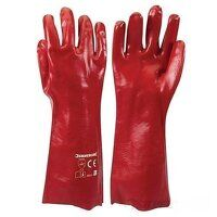 PVC Red Gauntlets (868551)