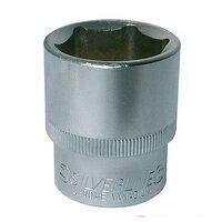 Silverline Socket 1/2inch Drive Metric 8...