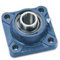 FY65TF SKF 65mm Bore Square Flange with Grub Screws