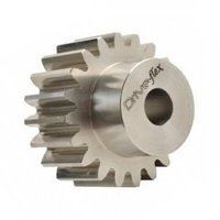 STS30/50B 3.0 Mod x 50 Tooth Metric Spur Gear in Stainless Steel
