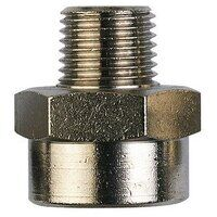 RL21/21K 1/2inch BSPT to 1/2inch BSPP Male x Female Threaded Adaptor