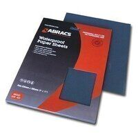 ABWD0220 230mm x 280mm x 220 Grit Waterproof Paper Sheet (Pack of 25)