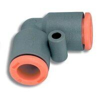 2L21005 10mm Tube Dia Equal Elbow - Technopolymer