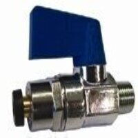 826100300 1/8inch to 6mm Mini-Ball Valves Male Threads To Tube