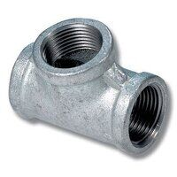 GFET12 1/2inch BSP Equal Female Tee - Galvanised Fitting