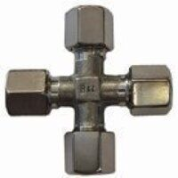 8mm Stainless Steel Equal Cross PN 250