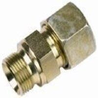 A10-RS-FORM-A/60 10mm x G3/8inch Male Stud Coupling BSPP Cone Seat - Heavy Duty