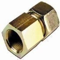 AI10-S/R3/8 10mm x G3/8inch Female Stud Coupling BSPP - Heavy Duty