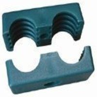DTCL-KP-100 10mm Double Clamp Body Set - Polypropylene