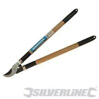 SILVERLINE WOODHANDLE BYPASS LOPPING SHEARS