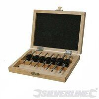 SILVERLINE 7PCE DRILL & COUNTERSINK SET 273222