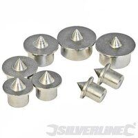 SILVERLINE 8PCE DOWEL POINT SET 733252