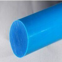 Nylon 6 Rod 110mm dia x 500mm (Blue - Heat Stabilized)