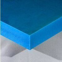 Nylon 6 Sheet 500 x 500 x 25mm (Blue - Heat Stabilized)